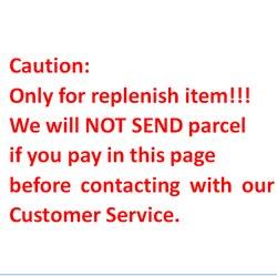 Только пополнение товара! Пожалуйста, свяжитесь со службой поддержки клиентов перед оплатой