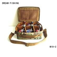 Bobine sac grande capacité sknapsack s'attaquer de pêche sacs Rêve de pêche 33*13 * 23cm1200D oxford multi-fonction bolsa de la pesca