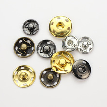 купить 50pcs Metal Snap Fasteners Press Button DIY Sewing Clothing Handbag Purse Wallet Craft Bags Parts accessories дешево
