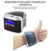 Four color laser watch medical laser device clean blood circulation lowering blood pressure promoting blood circulation