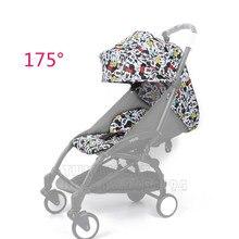 2019 Yeni 27 Renk Babyyoya 175 Derece güneş örtüsü Ve koltuk minderi Seti Yoya Yoyo Bebek Arabası Aksesuarları güneş örtüsü Gölgelik Koltuk