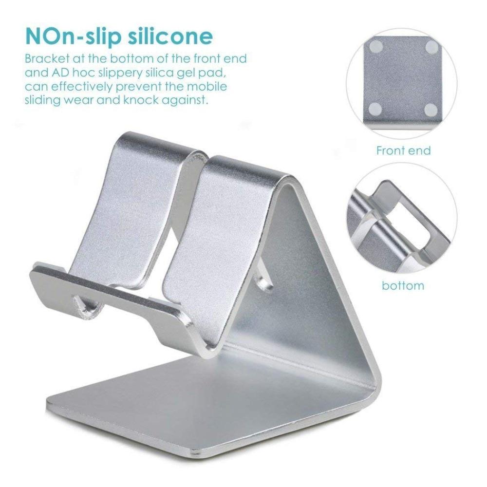 Portefeuille Aluminum Metal Phone Stand for Desk iPhone X 7 8 Plus 6S iPad Pro Xiaomi Mi Pad 4 Samsung Tablet Holder Accessories (6)