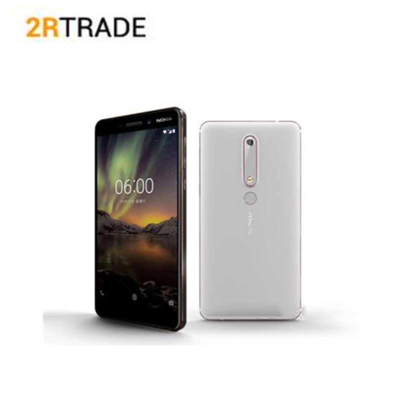 Nokia 6 2nd 4GB RAM 32GB / 64GB ROM Mobile Phone 4G LTE 5.5 Snapdragon 630 Octa Core 16MP 8MP Dual Camera Android Smartphone