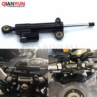 Motorcycle shock absorber direction damper mounting kit stabilizes for Yamaha's safety control MT 09 MT09 FZ09 FZ 09 2013 2016