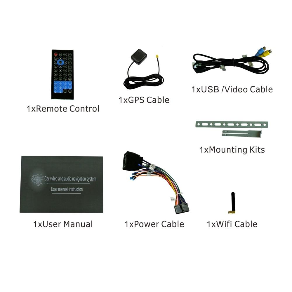 Última Android 6.0 Universal 1Din 7 pulgadas GPS del coche - Electrónica del Automóvil - foto 6