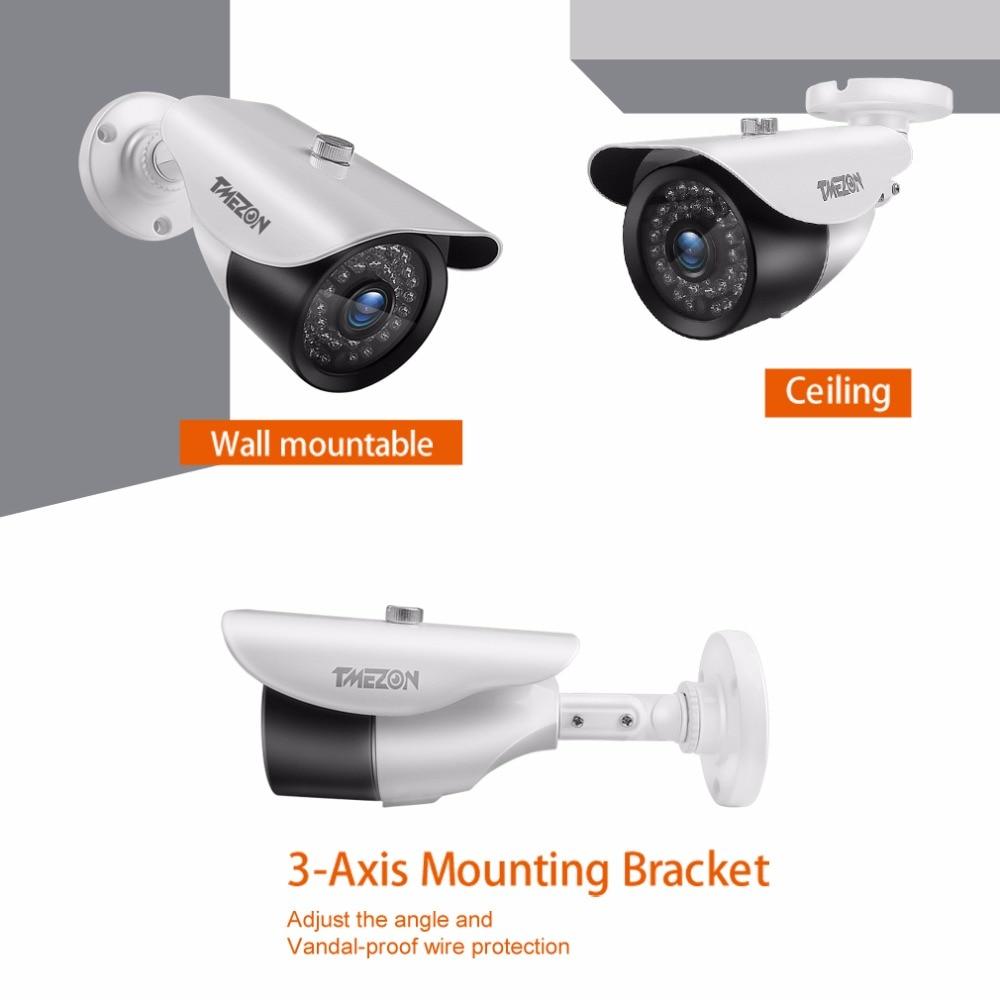 TMEZON AHD 720 P 960 P 1080 P CCTV Güvenlik Kamera Gündüz / Gece - Güvenlik ve Koruma - Fotoğraf 3