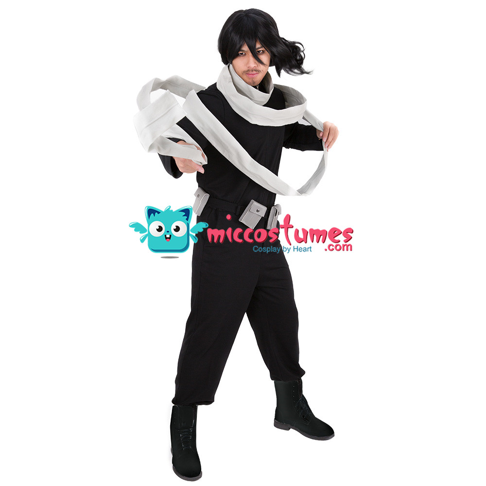Image 2 - My Hero Academia Shota Aizawa Eraser Head Cosplay Costume with Scarf-in Anime Costumes from Novelty & Special Use