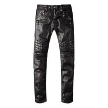 Европейский стрейч джинсы мужские известный бренд одежды мужчин джинсы мужчины продукт байкер джинсы 1022