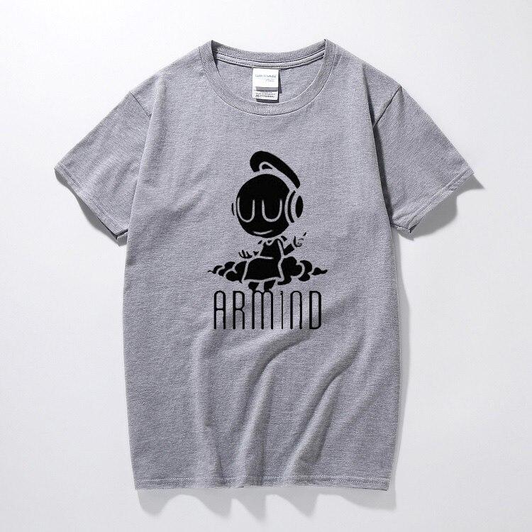 e81eb5b1715 Netherlands Trance Popular Stars Asot House Music Ibiza Rave Dj Armin Van  Buuren T shirt Small Angel Armind 2 Women Men T Shirts-in T-Shirts from  Men s ...