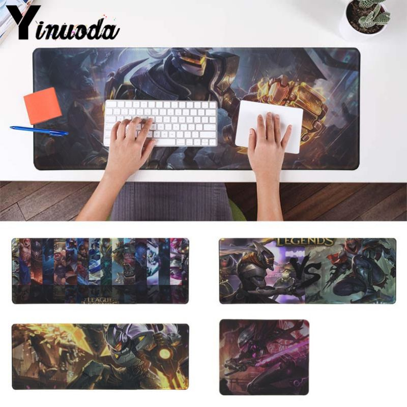 Yinuoda PC Game LOL League Of Legend  Comfort Mouse Mat Gaming Mousepad Size for 18x22cm 20x25cm 25x29cm 30x90cm 40x90cm