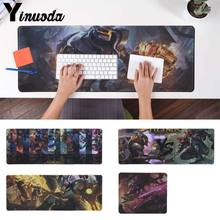 Yinuoda PC Game LOL League Of Legend Comfort Mouse Mat Gaming Mousepad Size for 18x22cm 20x25cm 25x29cm 30x90cm 40x90cm(China)