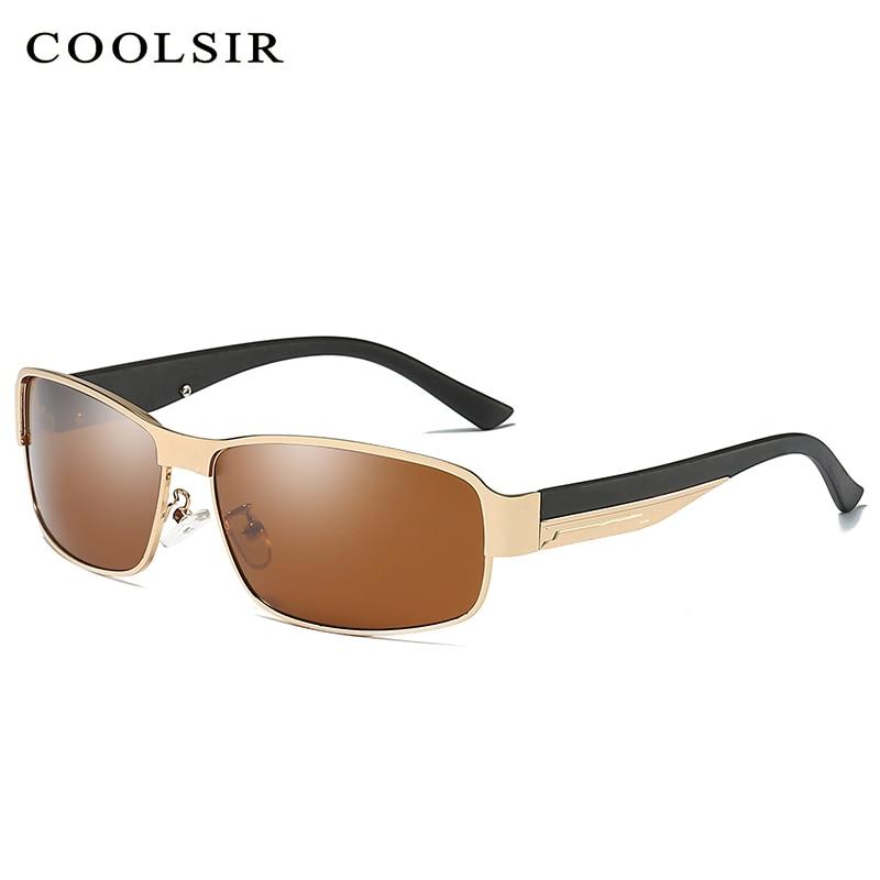 COOLSIR Новый поляризованные солнцезащитные очки мужчины вождения Рыбалка отдых бизнес мужские солнцезащитные очки мужские Eyewears аксессуары ... ...
