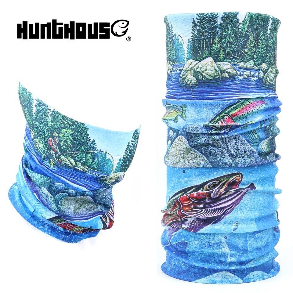 Hunthouse Multi Funzione di Pesca Sciarpa 3D Stampa Digitale di Pesca Copricapi di Pesca Anti-Uv BandanaHunthouse Multi Funzione di Pesca Sciarpa 3D Stampa Digitale di Pesca Copricapi di Pesca Anti-Uv Bandana