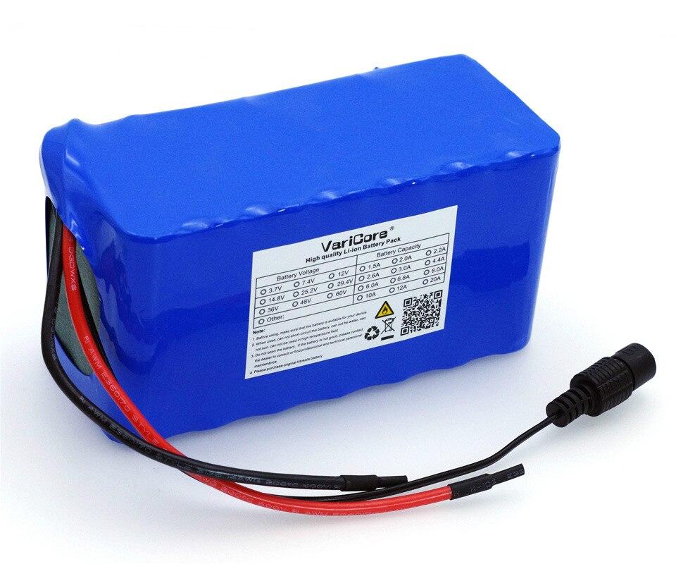Varicore 24ボルト6ああ7S3P 18650バッテリー29.4ボルト6000 mah電動自転車原付/電気/liイオンバッテリーパック+ 29.4ボルト2a充電器  グループ上の 家電製品 からの バッテリーパック の中 3