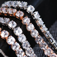 IF ME Fashion Crystal Cubic Zircon Bracelets For Women Gold Color Round Charm Bracelet Adjustable Pulsera Bijoux Bridal Jewelry(China)
