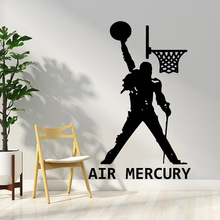 Classic Freddie Mercury Queen Band Wall Art Decal Sticker Murals For Diy Home Decoration Decor