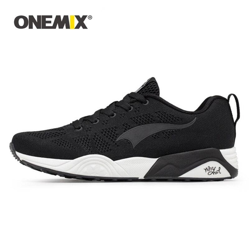 Onemix Men's Running Shoes Light Breathable Sports Sneaker For Women Sports Shoes For Outdoor Walking Jogging Trekking Sneaker