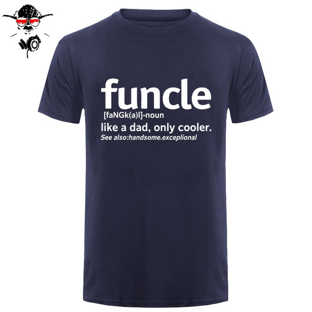 816c4a09 Mens Funcle Definition T-shirt Funny Gift for Uncle Proud A Uncle Tees Like  A
