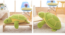 small cute plush turtle toy new lovely green turtle doll gift about 40cm