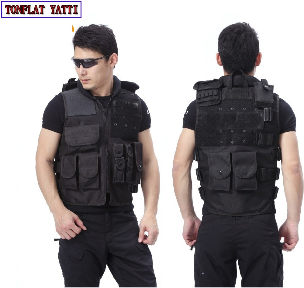 colete tatico Combat Strike sog gilet tactique voodoo ciras outdoor live cs Vest pouches Warror Molle Tactical cs swat vest 15 pcs nylon face eye lip makeup brush set page 3