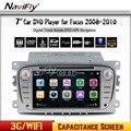 Бесплатная доставка 2Din 7 Дюймов Автомобиля DVD для FORD FOCUS 2 MONDEO S-MAX 2008-2011 С WI-FI GPS Радио RDS BT 1080 P форд автомобиля dvd фокус