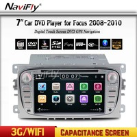 Free Shipping 2Din 7 Inch Car DVD For FORD FOCUS 2 MONDEO S MAX 2008 2011