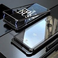 Магнитная Adorption металлический бампер Стекло чехол для coque Xiaomi mi x 3 противоударный жесткий чехол задняя крышка для Xio mi Xiaomi mi x3 случае