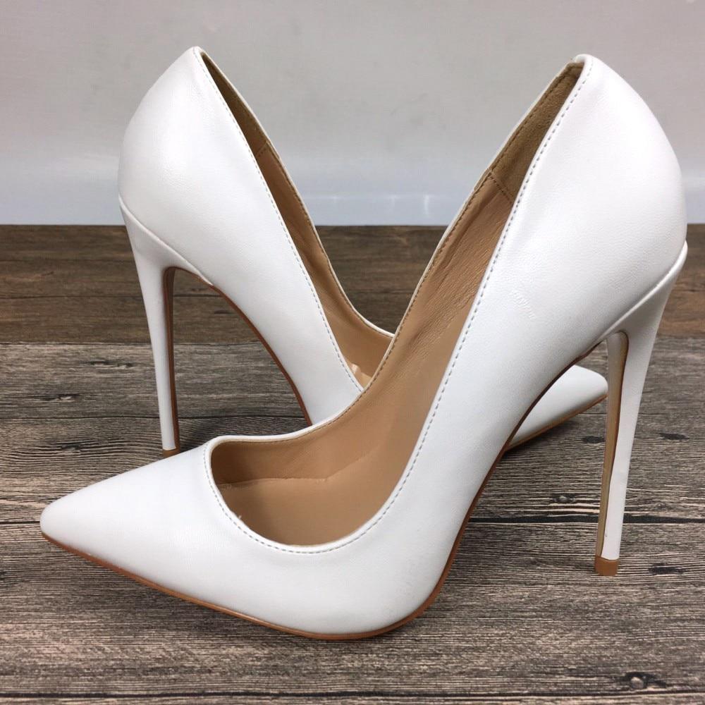 10cm Mujeres Zapatos 10cm12cm 12cm Patente with Marca Tacones Blanco Pu High Nuevo With Exclusiva Femeninos De Altos aqwAfA5ngx