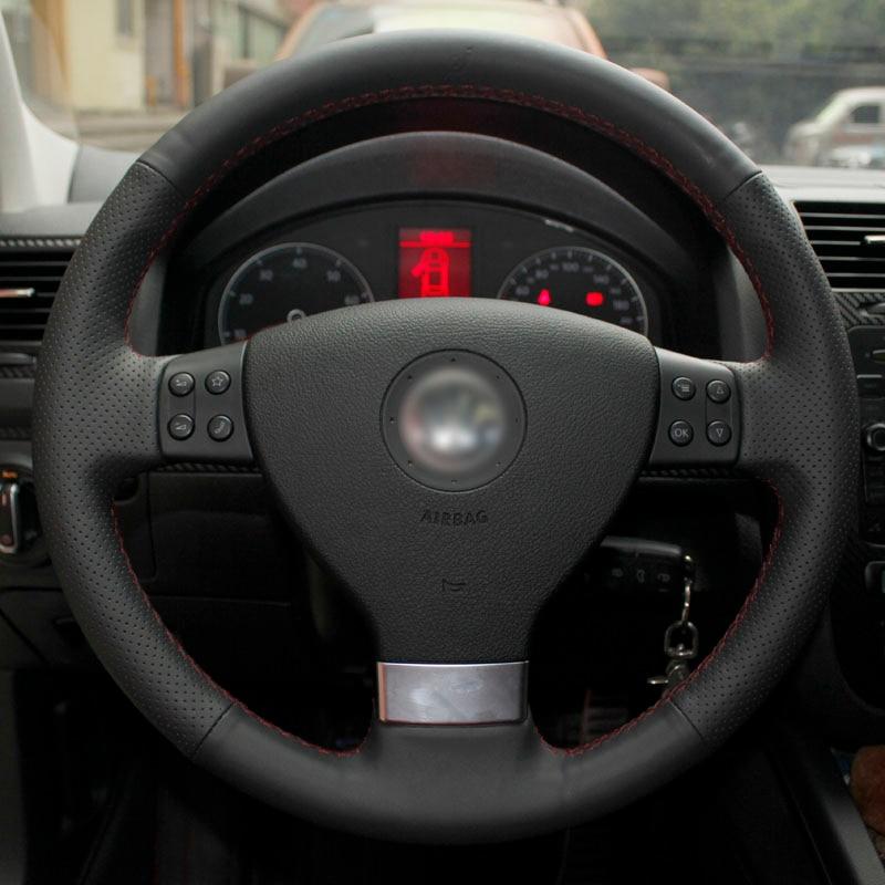Bersinar gandum Kereta Stereng Roda Penutup untuk Volkswagen Golf 5 - Aksesori dalaman kereta - Foto 5