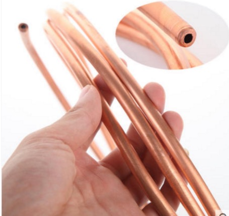 2Meters/lot Outer Diameter:2mm Wall Thickness:0.5mm Flexible Copper Tube Air Conditioner Copper Tube Pipe 10x1mm soft coil copper tube pipe air conditioner refrigeration systems