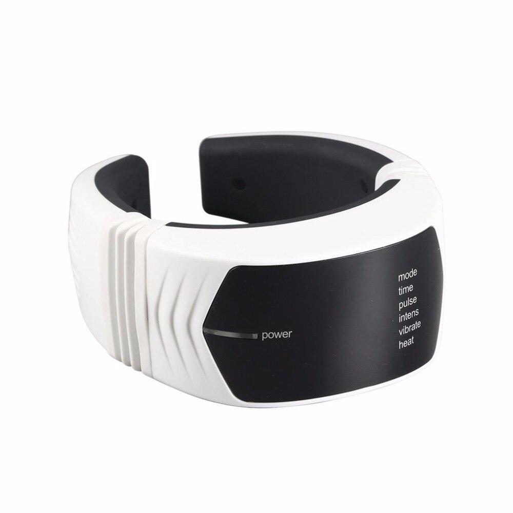 Sans fil Télécommande Masseur pour le Cou Soins de Santé Cervicale Thérapie Instrument Infrarouge Chauffage Beauté & Santé Massage Outil