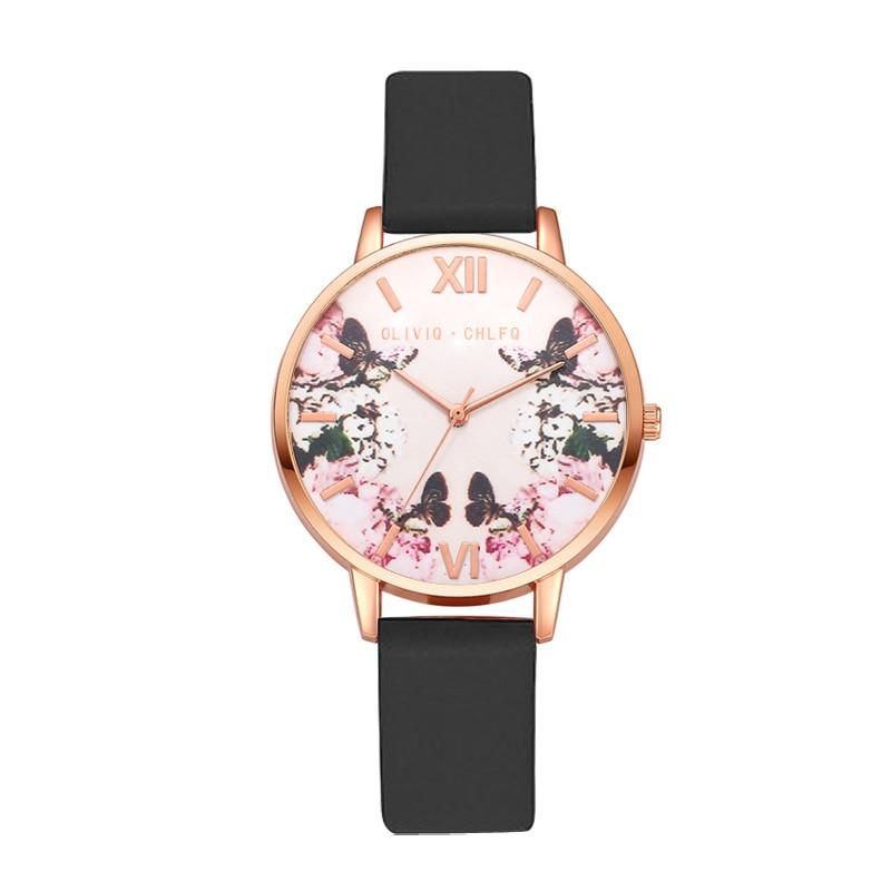 chlfq-rose-gold-simple-women-watch-flower-fashion-watch-temperament-ladies-dress-watch-women's-bracelet-quartz-watch