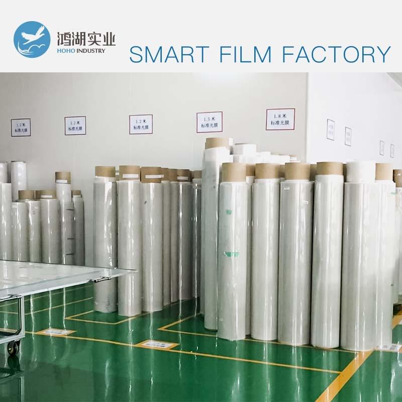 Gros 100x1000 cm PDLC film intelligent pour fenêtre verre décoration commutable Film intelligent magique confidentialité Film