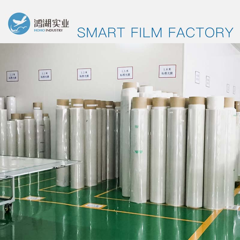 Wholesale 100x1000cm PDLC Smart film for Window Glass Decoration Switchable Smart Film Magical Privacy Film 15x15cm smart pdlc smart window film power window electrochromic film switchable glass