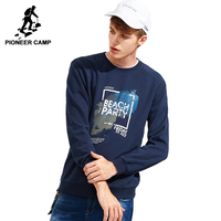 Pioneer Camp 2016 Autumn European Style Male Fashion Casual Streetwear Men Fleece Hoodies Sweatshirt Free Shipping