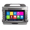 Frete grátis Kia Sportage R 2010 2011 2012 Car DVD GPS de Navegação Rádio Mídia Áudio Autoradio Central Multimídia Multimidia