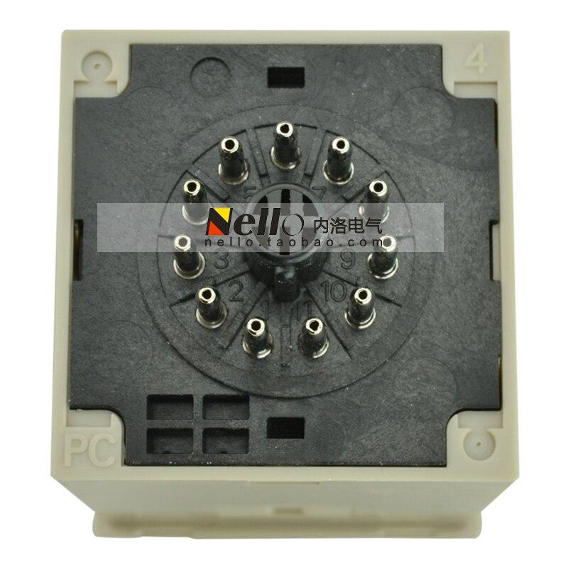 [SA] Настоящее реле задержки реле H3BA-N-DC24V мощность-задержка выключения- 5 шт./партия