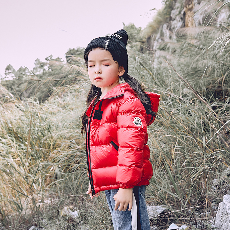 Baby Girls Jacket Winter 2018 New Fashion Casual Hooded Warm Jacket for Boys Down Coat Children Clothes Infant Outerwear&Coats 2017 new brand winter warm jacket for men hooded coats casual mens thick coat male slim casual cotton padded down outerwear