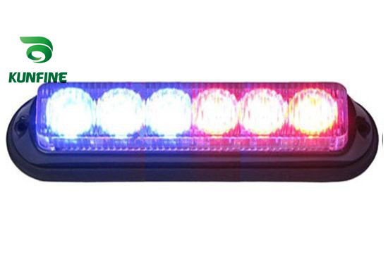 100% water-proof  LED strobe light 6*1W High Power LEDs With flash Patterns led warning light  Traffic Advisors light KF-L3019