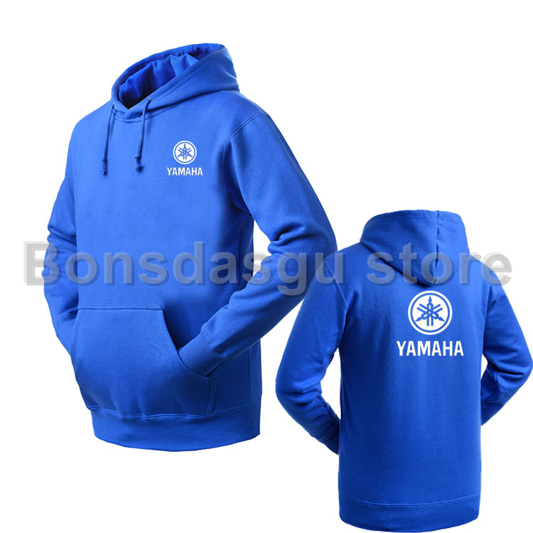 Women and mens YAMAHA logo pullover Hooded Sweatshirt Casual Brand