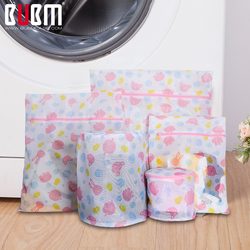 BUBM Bag For Laundry Washing Bag A Set Of Laundry Bag Clothes Organizer Protection For Underwear Bra