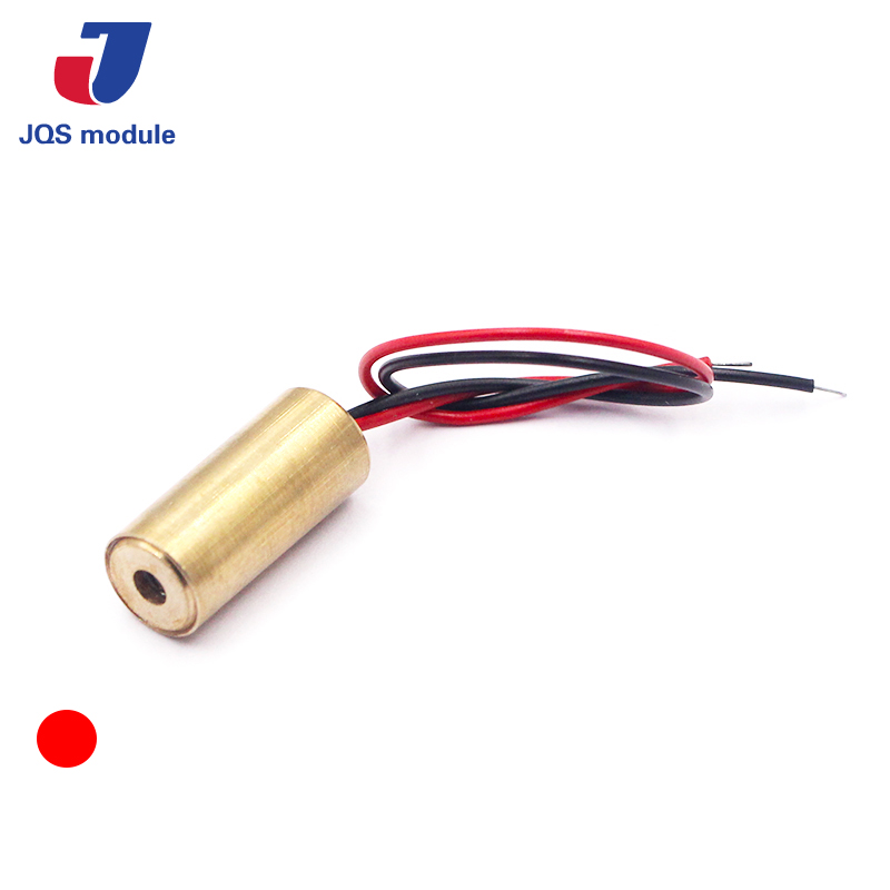 650nm 9mm 3V 50mW Laser Dot Diode Module Red Copper Head 10050110w 50mw 650nm red light laser diode golden 3v