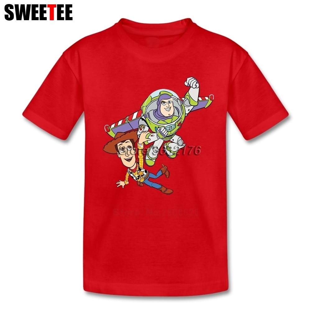 Toy Story Baby T Shirt Kid 100% Cotton Toddler O Neck Baby Tshirt Children Infant Garment 2018 T-shirt For Boy Girl