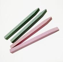 2Pcs Stone Nail File Buffer Sanding Block V-shaped Nail Grinding Blocks Grind Sand Nail Art Pedicure Manicure Beauty Tool