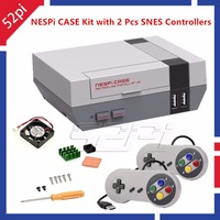 52Pi In Stock Mini NESPI Retroflag Case With Cooling Fan And 2 Pack SENS Gamepad Controller
