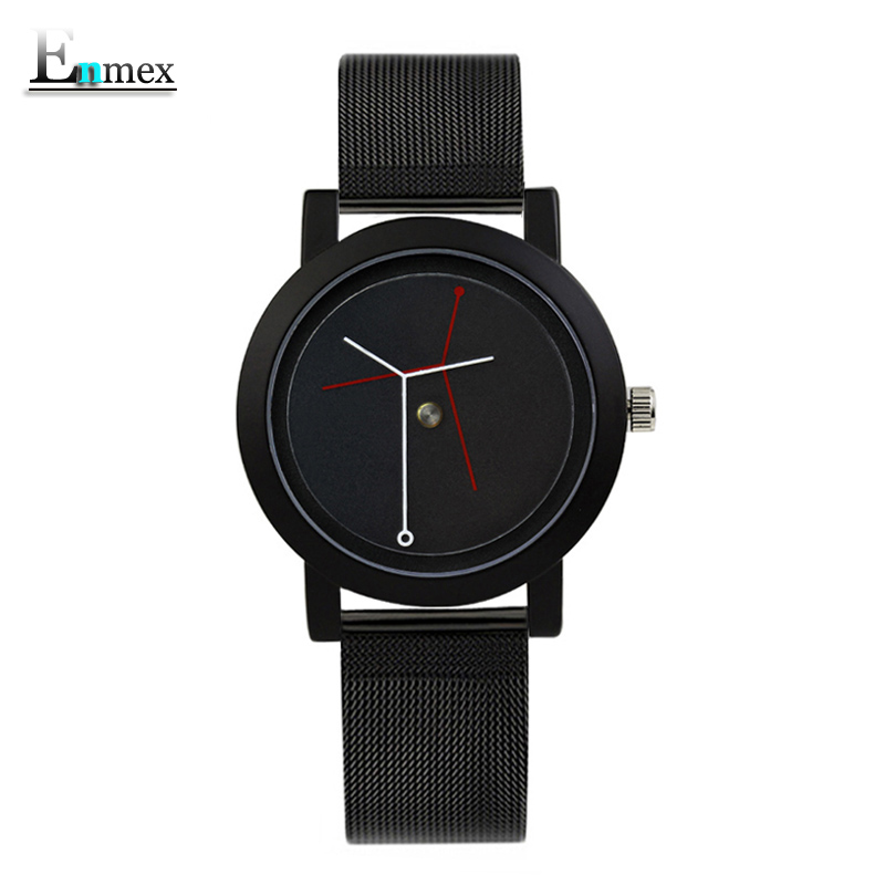 Enmex creative design lady wristwatch branch concept brief stainless steel simple face nature fashion quartz lady watches ladies gift new style watch enmex creative design starlight in the night sky simple face steel band quartz fashion wristwatch