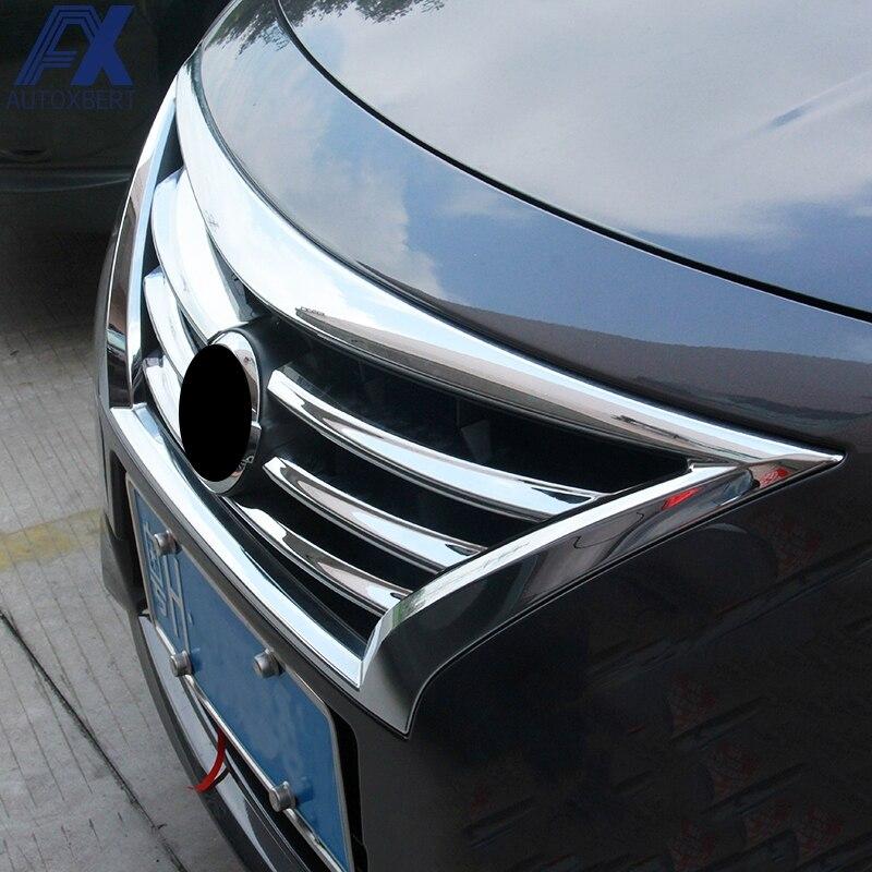 2016 Nissan Versa Exterior: AX For Nissan Latio Almera Versa Chrome Front Mesh Grille
