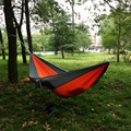 Portable Outdoor Traveling Camping Parachute Nylon Fabric Hammock For Two Person 8 Colors -39