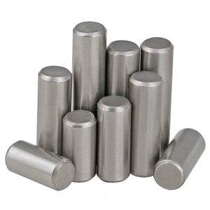 10 Stücke M1.5 M2 M2.5 M3 M4 GB119 304 Edelstahl Zylindrischen Pin Zentrierstift