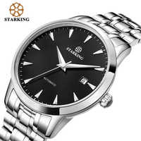 Original Starking Luxury Brand Watch Men Automatic Self-wind Stainless Steel 5atm Waterproof Business Men Wrist Watch Timepieces